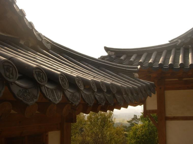 Keimyung Hanuk Village Roofs
