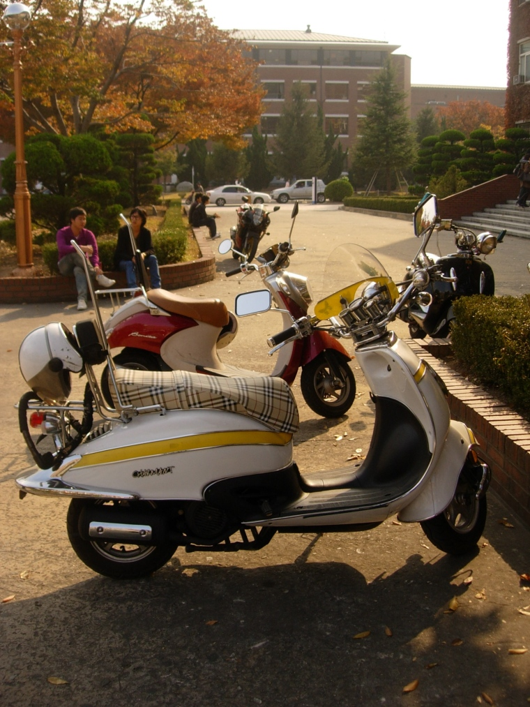 Moped - Keimyung Campus