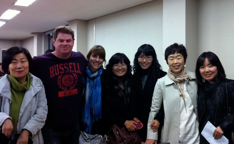 KIETT Trainees and Trainers at KOTESOL