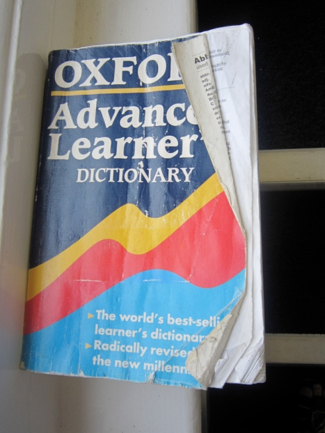 The Oxford Learner's Dictionary is another great option (picture courtesy of ELTpics)