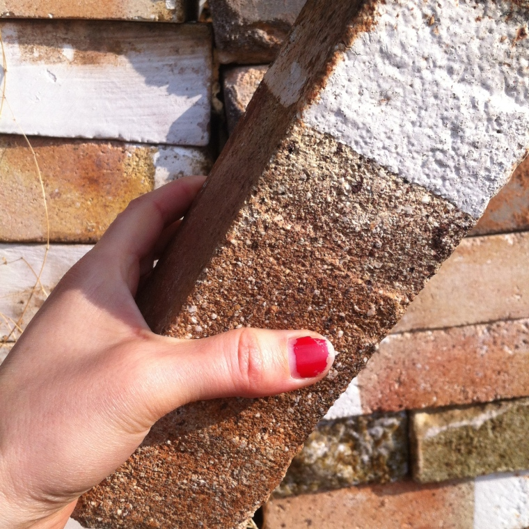 Giving up bricks #redthumbforlove
