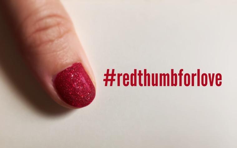 #redthumbforlove